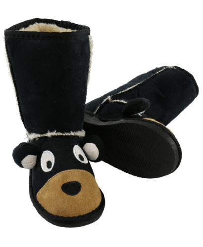 Kids Bear Toasty Toez Slipper Boots - Lazy One®